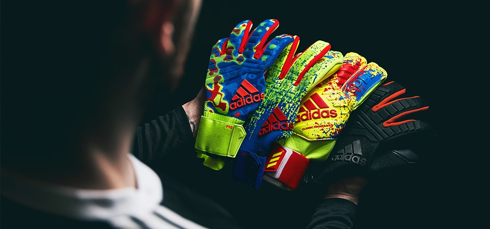 adidas gloves group shot