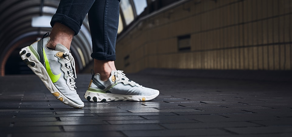 Nike React Element 55 Green 84569a0760f