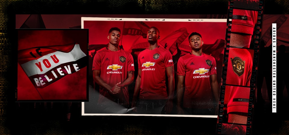 Manchester  united Home 19/20