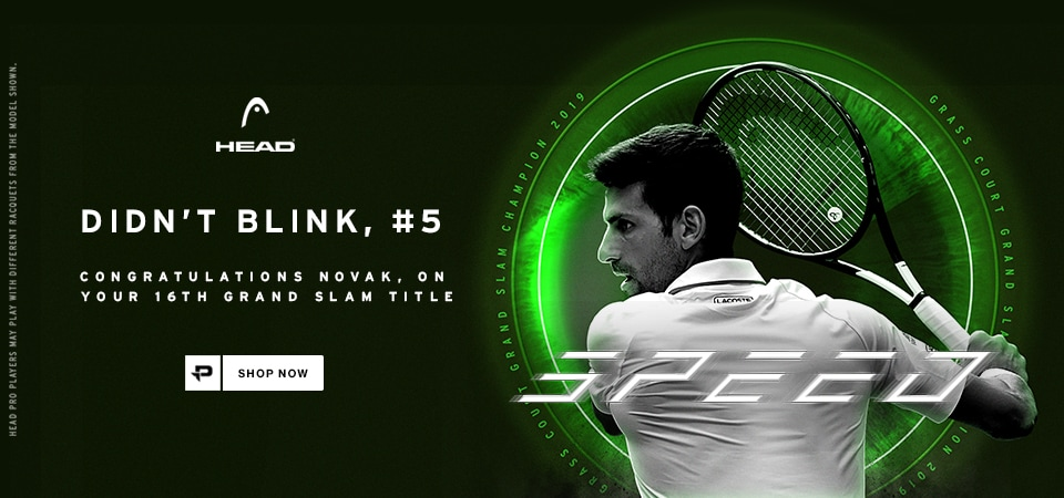 Head Djokovic Wimbledon Win