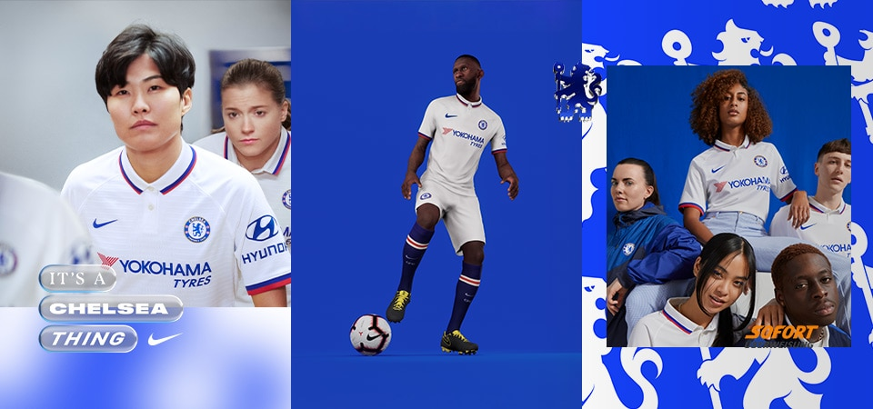 Nike Chelsea Away Kit 19/20