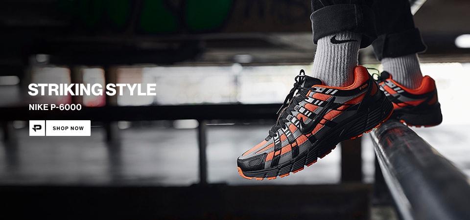 Nike P-6000 Black/Orange
