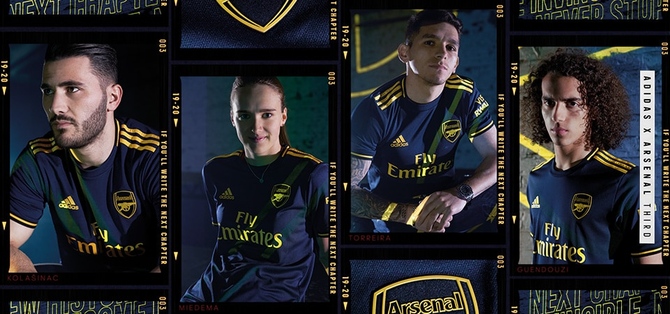 Arsenal 3rd Kit 19/20