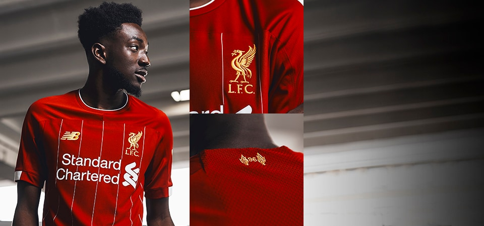 NB Liverpool Home Kit 2019/20