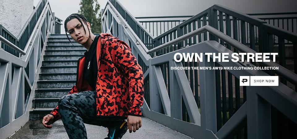 Nike Red Camo