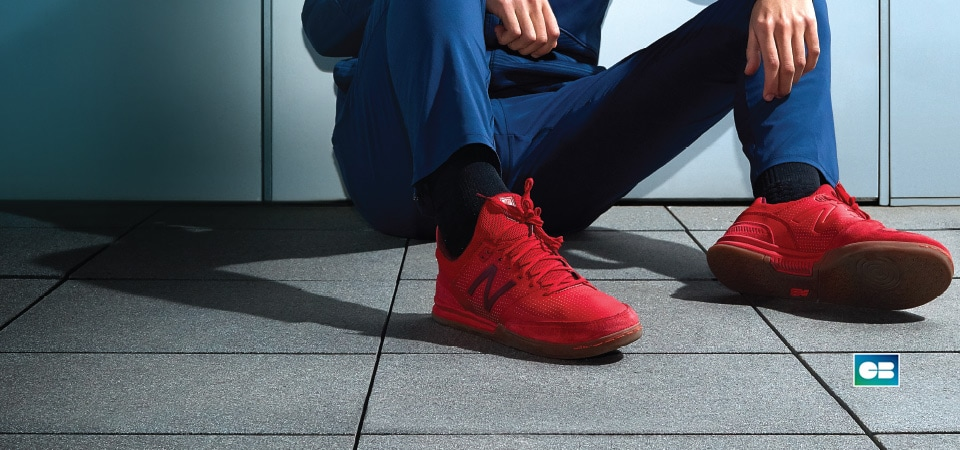 NB Audazo Red 10.01