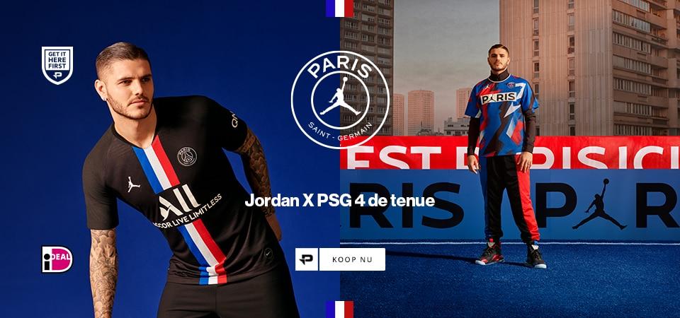 PSG x Jordan 4th Kit
