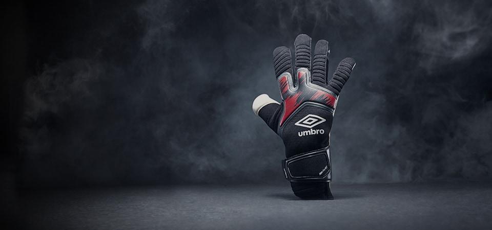Umbro Black Carbon Glove