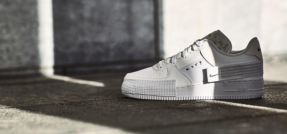 Nike AF1  Type   White