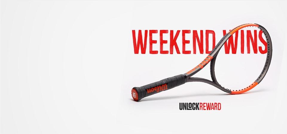 Weekend Win - Wilson Burn Racket - 151772