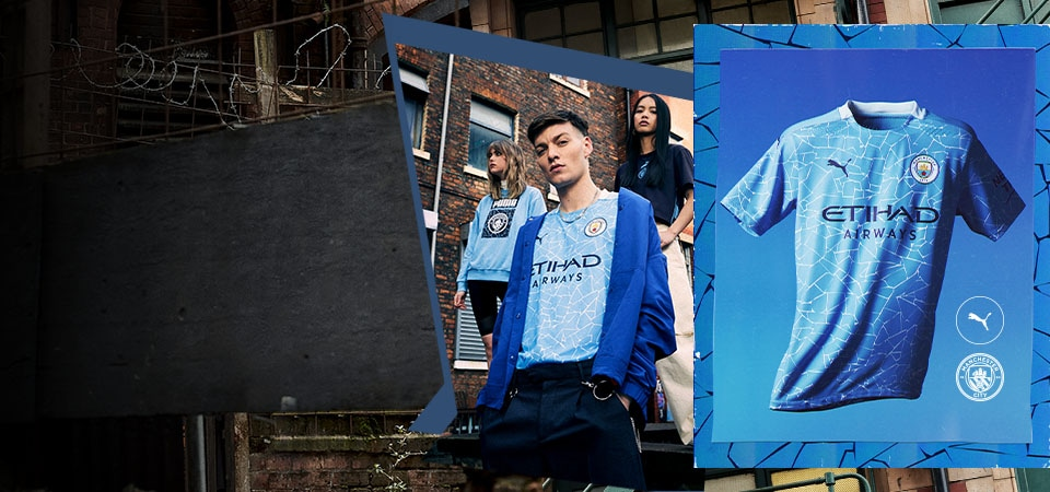 Manchester City Home 20/21 Kit