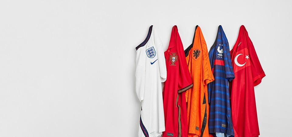 Nike 20/21 National Team Kits - Home
