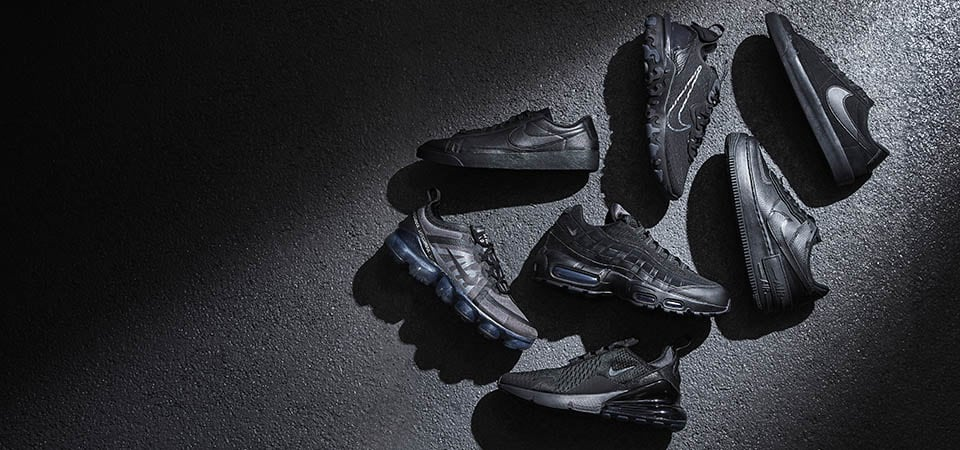 Nike Triple Black Collection