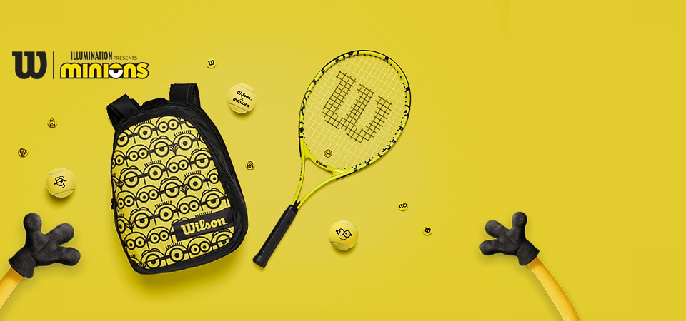 Wilson x Minions Collection