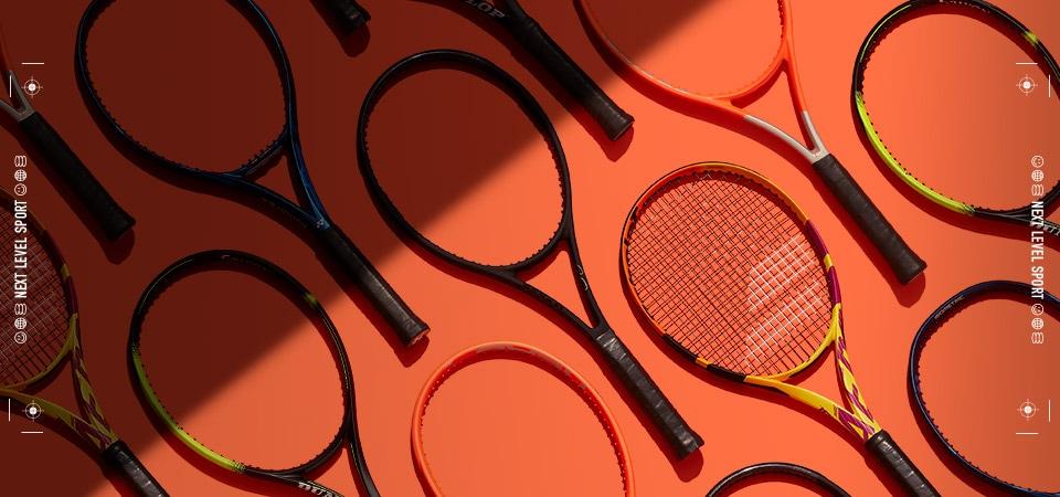 Tennis Rackets   Level up