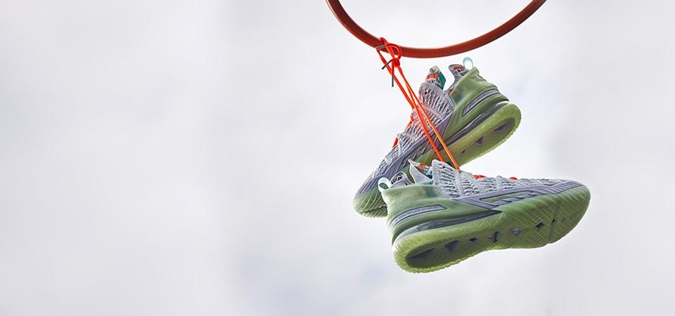 Nike LeBron 18 'Blue Tint'