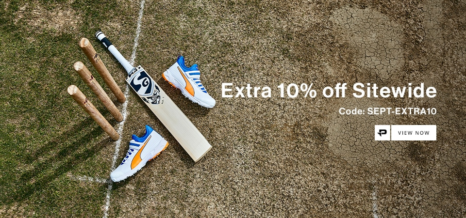 Extra 10% Site Wide | Cricket